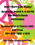 Prestera Spring Event | Don't Worry Be Hippy! | Saturday 3/4/17