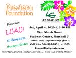 Luau Benefit for Prestera Center on 4/4/20